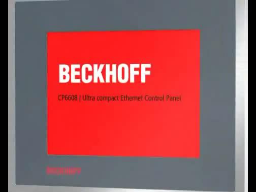 Beckhoff 5.7英寸的以太网控制面板CP6608