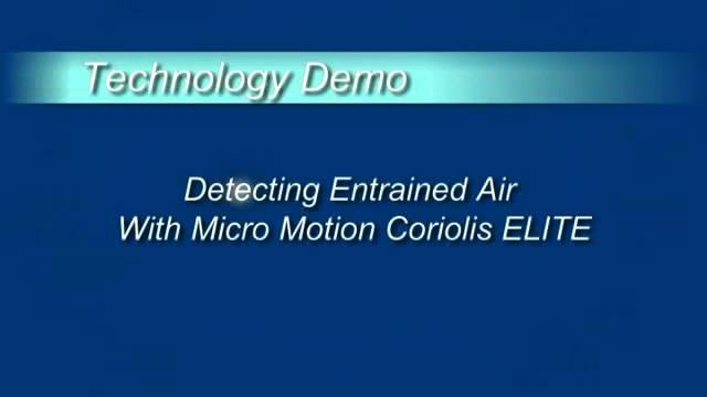 利用两线制高准科里奥利仪表检测夹带气体
