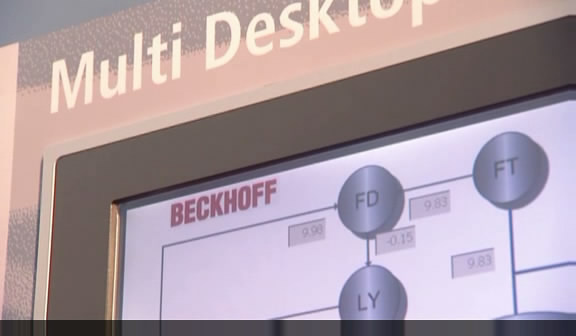 Beckhoff CP-Link Ethernet-based multi-display link