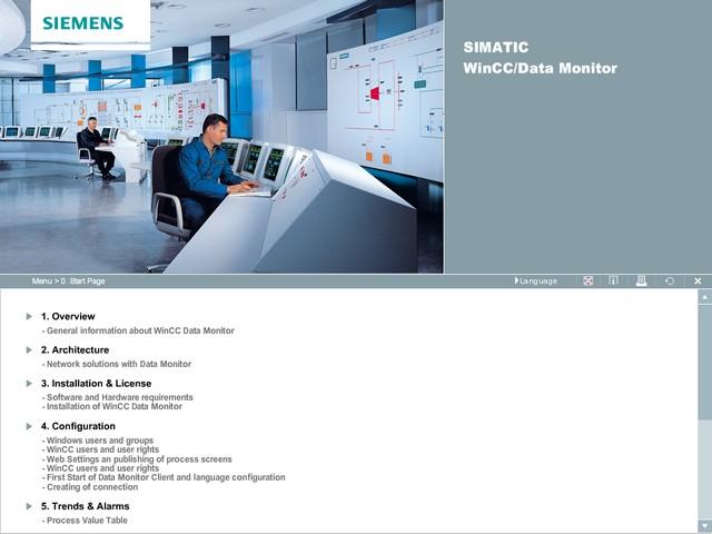 SIMATIC WinCC V7.0 DataMonitor