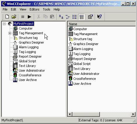Wincc组态-连接到过程之获取PC信息