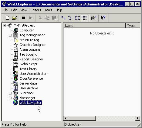 Wincc组态选件-通过网络浏览器监控WinCC项目
