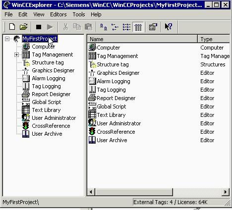 Wincc组态-创建画面之创建一个新的画面