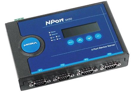 株洲 MOXA NPort 5450I 代理 串口服务器