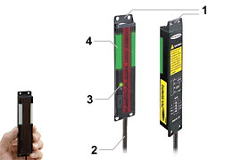 邦纳 EZ-LIGHT  PVA 系列 部件确认传感器