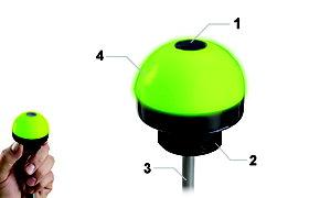邦纳 EZ-LIGHT  K50 系列 部件确认传感器