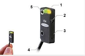 邦纳 VS4 系列 小型光电传感器