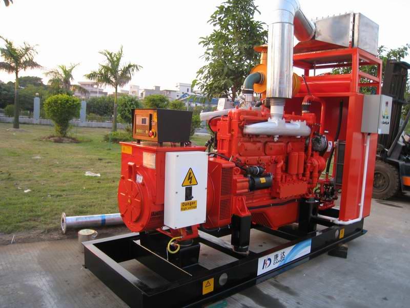 节能环保型沼气发电机