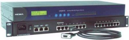 随州 MOXA CN2610-16-2AC 代理 终端服务器
