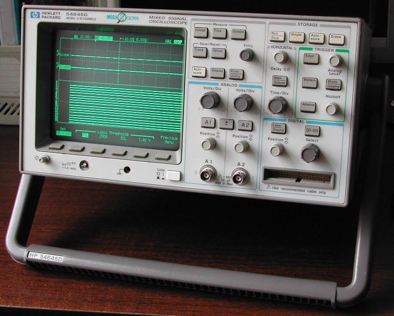 混合信号示波器 HP54645D