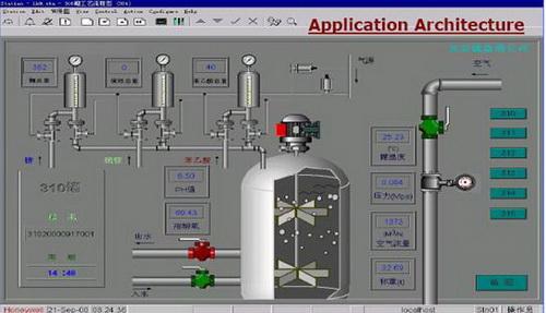 抗生素生产工艺流程_HC900混合控制系统应用在鲁抗药业发酵工艺