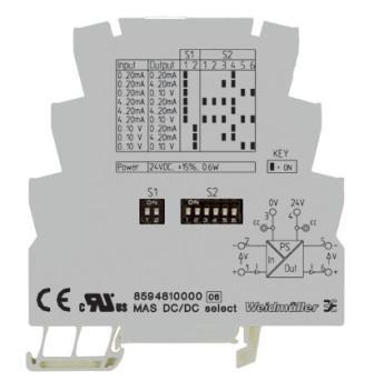 魏德米勒MICRO系列隔离器
