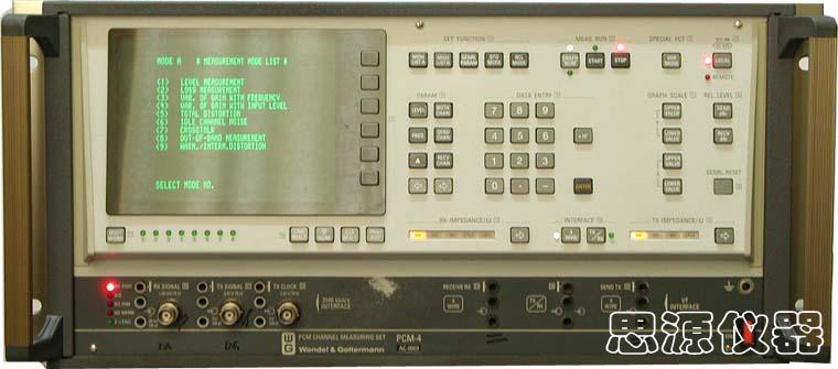 PCM信道分析仪 PCM-4 PCM Channel Measuring Set