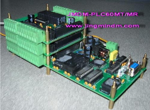 PLC可编程控制器,兼容三菱的国产120点以内控制