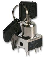 钥匙开关 SPDT 90° 闭合/闭合 MRK 1012 A - R
