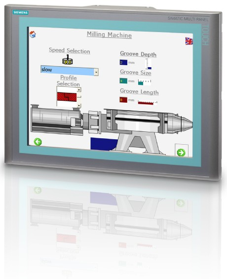 西门子hmi产品实现全面ip65保护