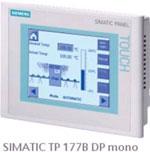 西门子SIMATIC触摸屏面板TP177B
