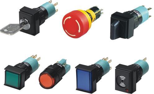 详细介绍: 产品包括:急停开关,指示灯开关,按钮开关,钥匙开关,选择