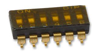 MULTICOMP - MCDM(R)-06-T - 开关 DIL SMD 6路
