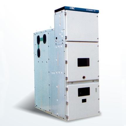KYN28A-12中置式金属铠装开关柜柜体