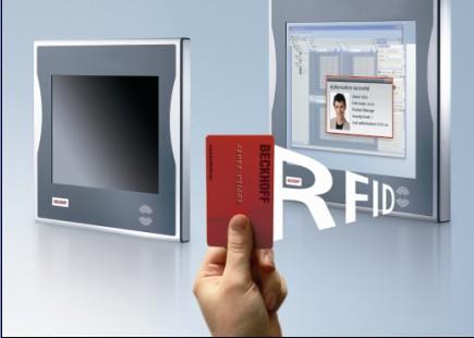 Beckhoff 在控制面板和面板型PC中集成了RFID阅读器