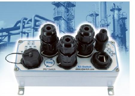 AMPHENOL用于加工工业的ATEX Zone 2以太网交换机
