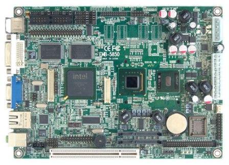 华北工控嵌入式工业主板EMB-5850