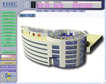 PcVue v.8.2 SP1建筑管理系统