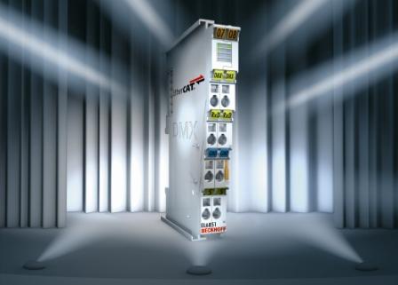 Beckhoff用于楼宇自动化DMX端子模块EL6851