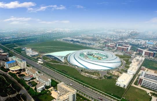 上海光源实验室大厅及实验室