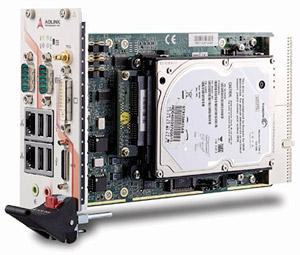 PXI-3950:基于PXI平台混合测试系统的新一代3U PXI Intel CoreTM2 Duo控制器