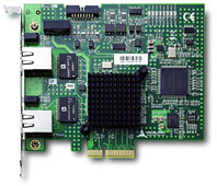PCIe-GIE62:2通道GigaE Vision接口的高速图像采集卡,带触发及数字量I/O