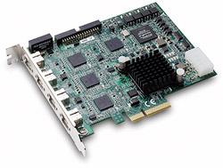 PCIe-FIW64:4通道PCI Express IEEE 1394b图像采集卡