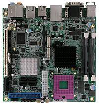 广积科技基于Intel GM45处理器的Mini-ITX工业用主板MI945