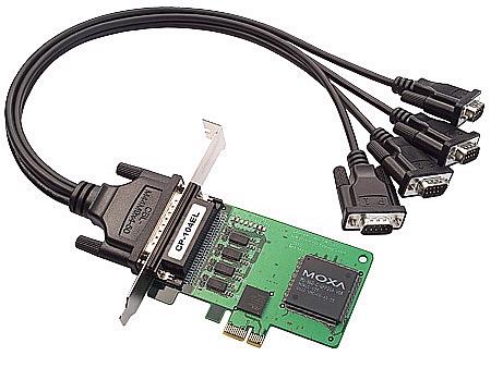 无锡 MOXA CP-104EL 代理 多串口卡