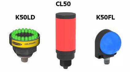 邦纳发布三款业界独特的工业智能指示灯
