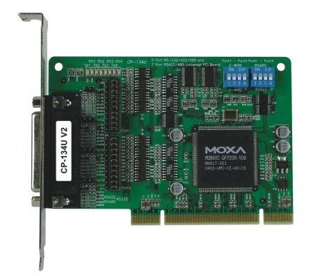 宁波 MOXA CP-134U 代理 串口卡