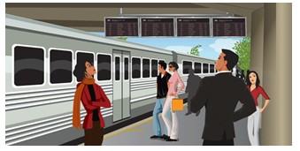 新汉电脑发布地铁站台多媒体信息播放系统
