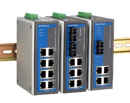 郑州 MOXA EDS-308-MM-SC 代理 工业以太网交换机
