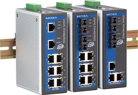 黄冈 MOXA EDS-408A-SS-SC 代理 光纤环网交换机