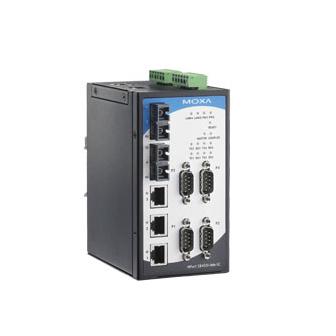 MOXA-交换型串口联网服务器-NPort S8000系列