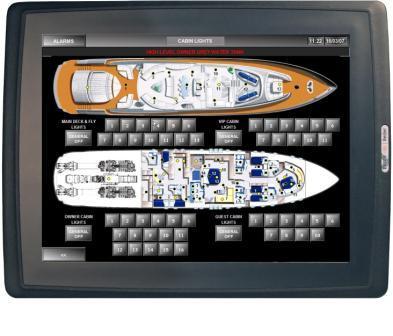 北尔电子强光下可视人机界面 EXTER T100sr-bl