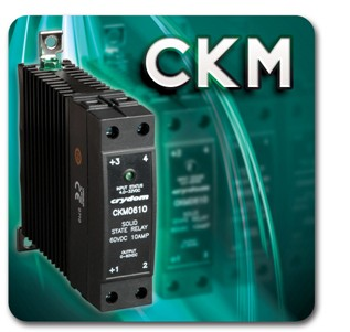 CRYDOM DIN 导轨安装大功率直流输出固态继电器
