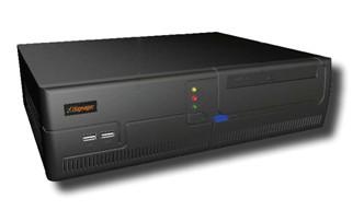 威强推出Q35平台iSignager-1000外接型广告机播放器: