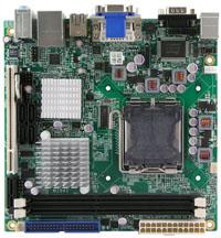 广积科技支持Intel G41芯片组的Mini-ITX工业级主板MI941