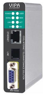 VIPA 电信服务模块 – 远程维护,远程控制,报警管理