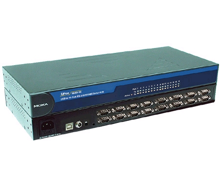 MOXA UPort 1610-16 总代理 USB转串口