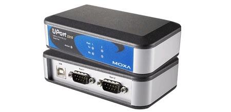 MOXA UPort 2210 总代理 USB转串口