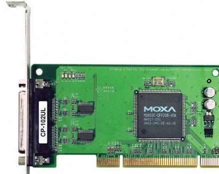 MOXA CP-102U 总代理 2串口卡