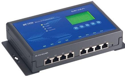 MOXA UC-7410-CE 总代理 通讯管理机